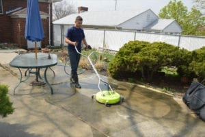 Residential Concrete Cleaning