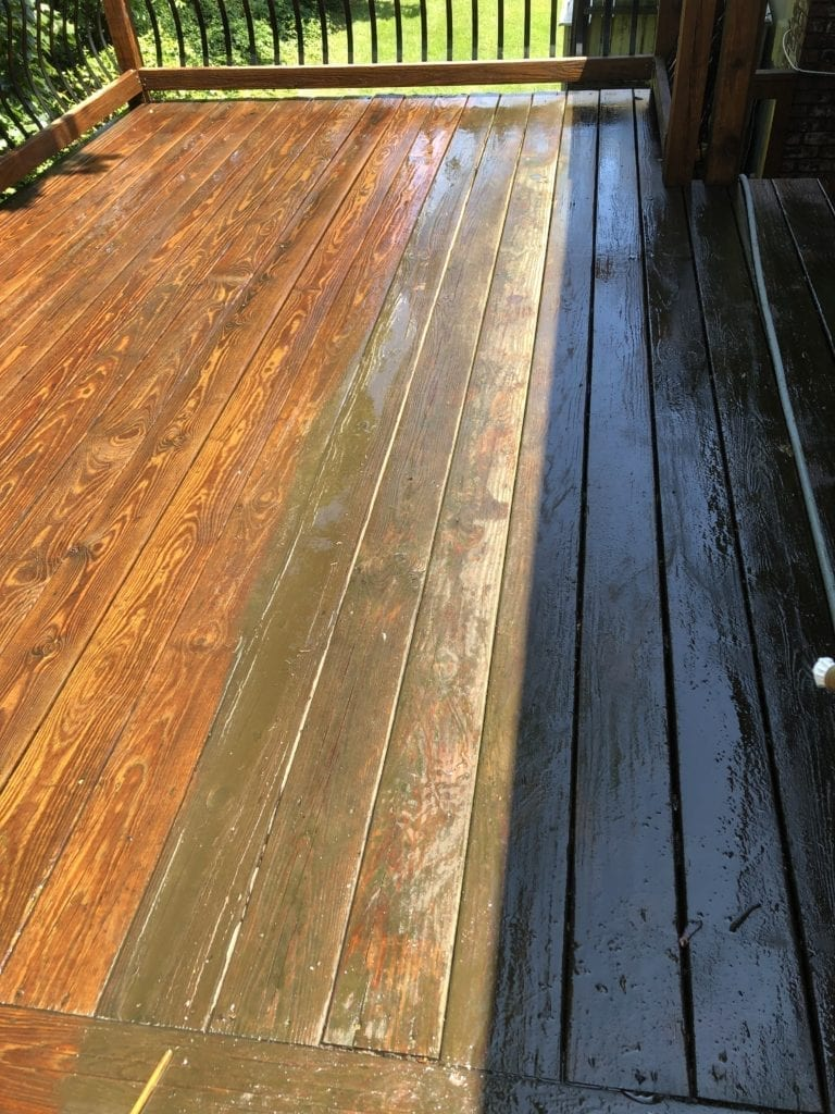 Make your deck the best part of your property! Parkway Powerwash delivers the deck cleaning solution you need to maximize the potential of your outdoor space. With our professional service, your deck will be ready for every backyard barbecue to come.